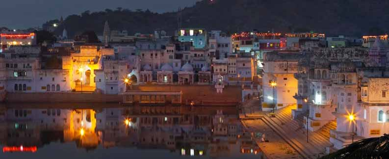 Pushkar town of Temples-Essence Tour of India