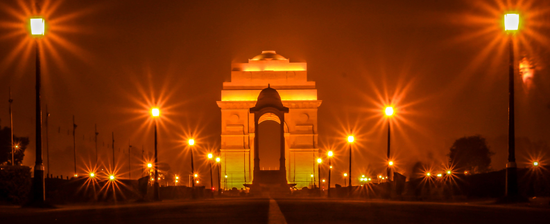 Delhi India Gate-Golden triangle tours