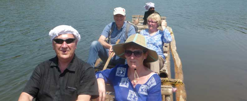 Bamboo rafting-South India Tours Packages