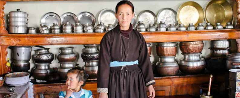 Typical Ladakhi Home-Ladakh Tours Packages