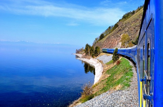 Rail journey through the Paradise of Siberia