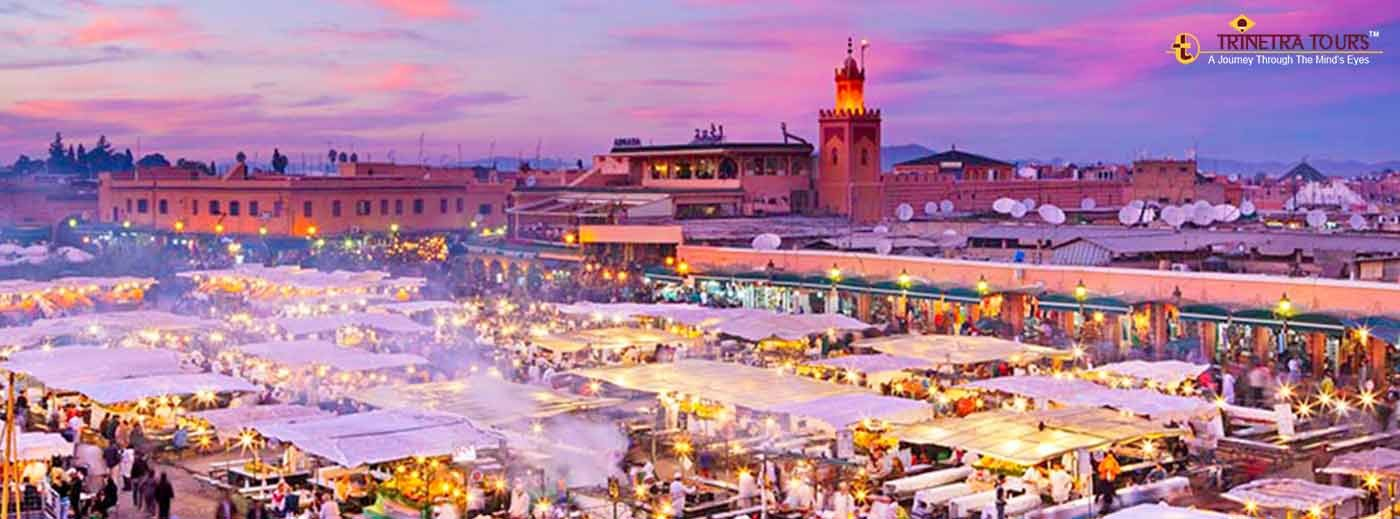 the fascinating souks of marrakech